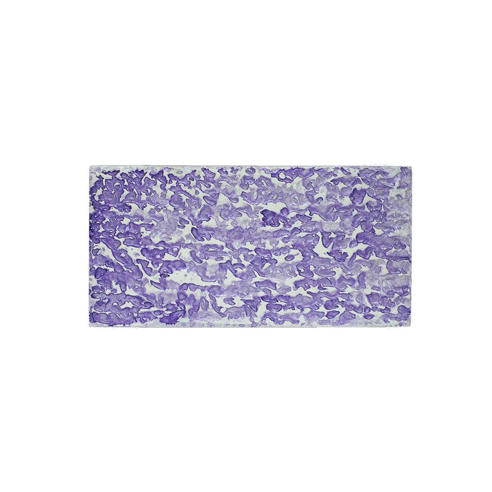 purple abstract art on canvas